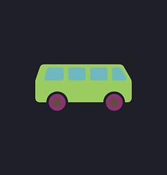 van computer symbol vector image