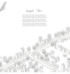 Architecture concept background vector