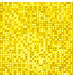 disco gold background vector image vector image
