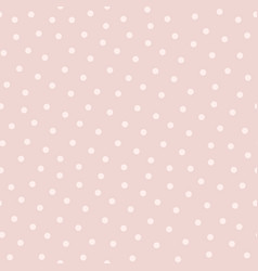 polka dot seamless pattern in popular colors vector image
