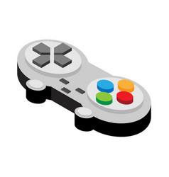 video game controller of flat style vector image vector image