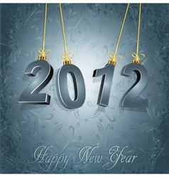 New years type vector