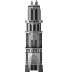 church building icon image vector image