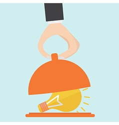 Serving an idea vector image