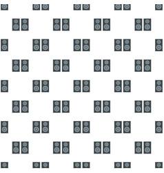 studio speakers pattern seamless vector image
