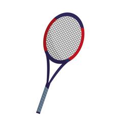 Tennis racket design vector