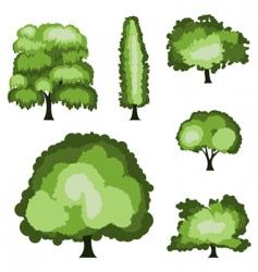 tree designs vector image