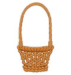 Basket vector image