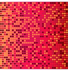 disco red background vector image