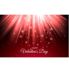 abstract shine sparkles light red holiday abstract vector image