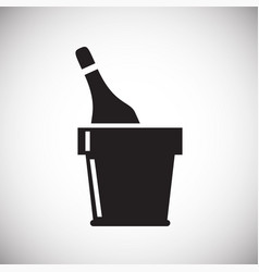 beverage icon on white background for graphic and vector image