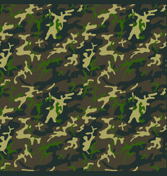 camouflage pattern seamless military background vector image
