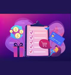 Cash back concept vector