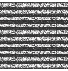 Geometric striped monochrome abstract pattern with vector image