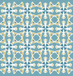 geometrical mosaic pattern seamless texture vector image