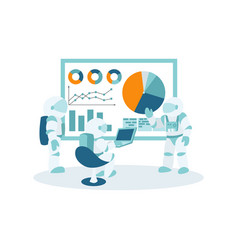 space business workflow management and office vector image
