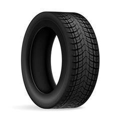 Car tire vector image vector image