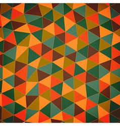 Geometric pattern Texture with trianglesMosaic vector image