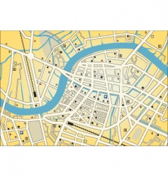 city street map vector image vector image