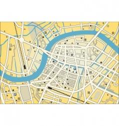 city street map vector image