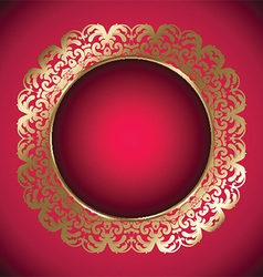 decorative frame 2907 vector image