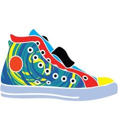 Sport shoes design vector image vector image