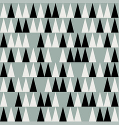Abstract mid century polygonal pattern vector