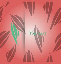 Abstract monochrome fashion wallpaper vector