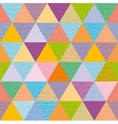 Abstract multicolored triangles decorative vector