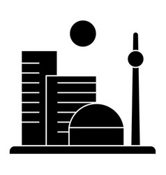 city big icon sign o vector image vector image