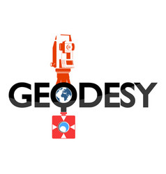 Geodesy symbol for business vector
