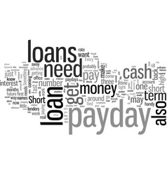 How to get a short term loan vector