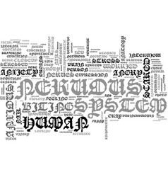 Nervous word cloud concept vector