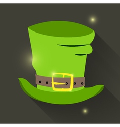 St Patrick Day hat icon vector