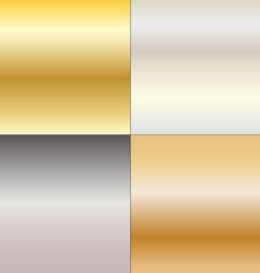 Metal gradients vector