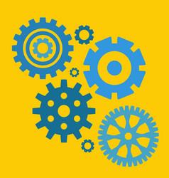 gear or cog icon vector image vector image