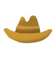 cartoon style grunge american western cowboy vector image vector image