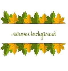 Big Autumn sale Fall sale design Three banners vector
