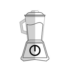 Blender with juice vector