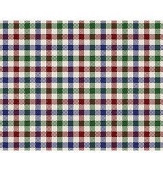 colored checked fabric texture seamless pattern vector image