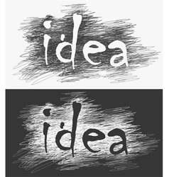 creative concept vector image