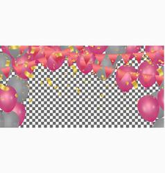 happy color background happy birthday holiday vector image