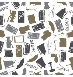 photographic icon color pattern eps10 vector image
