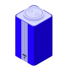 Smart speaker icon isometric ai voice vector