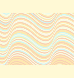 Wavy stripes background abstract papercut vector