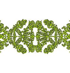 Symmetrical openwork vector image vector image