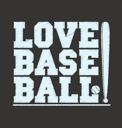 baseball sportswear emblem baseball t-shirt vector image vector image