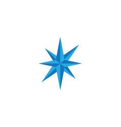 Compass logo template icon des vector