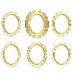 decorative frames - set vector image