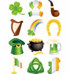 St. Patrick's icon vector image vector image